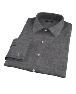 Black Denim Tailor Made Shirt
