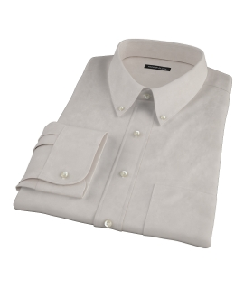 Khaki Chino Men's Dress Shirt