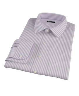 Thomas Mason Red Stripe Oxford Dress Shirt
