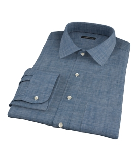Blue Denim Dress Shirt