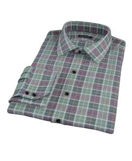 Green Dock Street Flannel Tailor Made Shirt