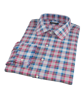 Essex Plaid Fitted Shirt