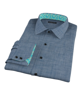 Blue Denim Custom Made Shirt