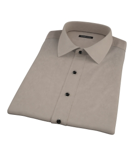 Olive Chino Short Sleeve Shirt
