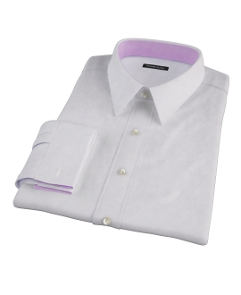 Wrinkle Resistant Purple Multi Grid Men's Dress Shirt