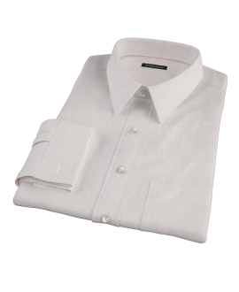 Pink Phantom Wide Stripe Fitted Dress Shirt