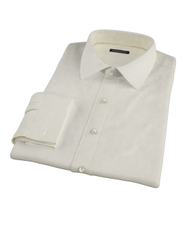 Bowery Yellow Pinpoint Men's Dress Shirt
