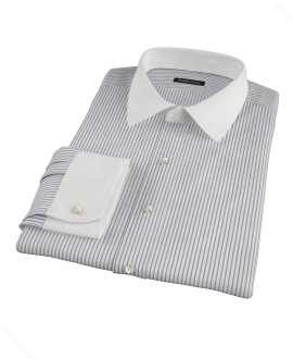 Canclini Black Stripe Custom Made Shirt