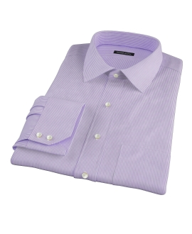 Lavender Grant Stipe Dress Shirt