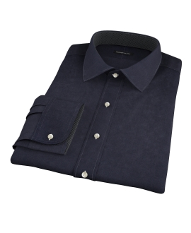 Black Chino Men's Dress Shirt