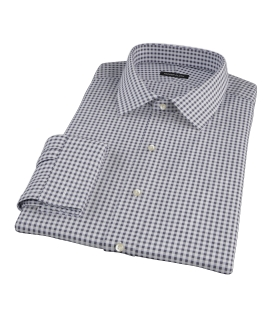 Medium Black Gingham Tailor Made Shirt
