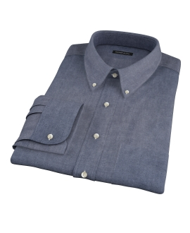 Crosby Black Denim Custom Dress Shirt