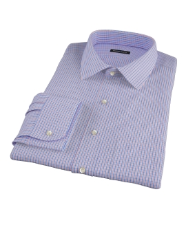 Red and Blue Regis Check Dress Shirt