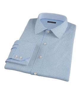 Green and Blue Regis Check Dress Shirt