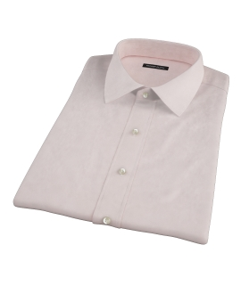 Bowery Peach Pinpoint Short Sleeve Shirt