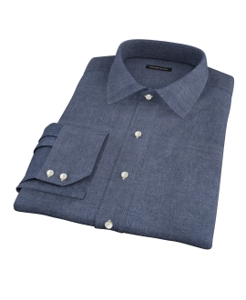 Whitney Charcoal Flannel Tailor Made Shirt