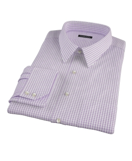 Rye Lavender Grid Fitted Shirt