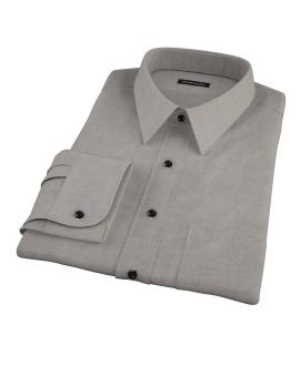 Charcoal Heavy Oxford Cloth Dress Shirt