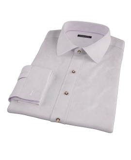 Canclini Lavender Fine Twill Dress Shirt
