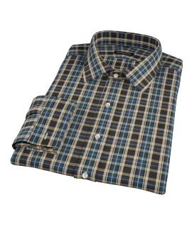 Whistler Green Plaid Custom Made Shirt
