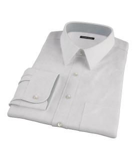 140s Lavender Wrinkle Resistant Grid Fitted Dress Shirt
