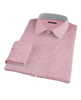 Hibiscus Cotton Linen Oxford Tailor Made Shirt