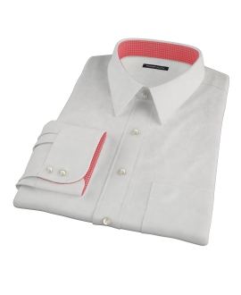 Ecru 100s Twill Custom Made Shirt