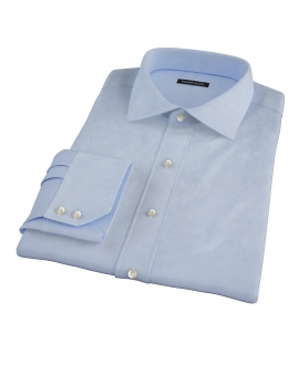 Blue Fine Twill Dress Shirt