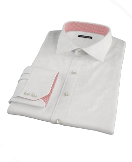 White 80s Royal Oxford Men's Dress Shirt