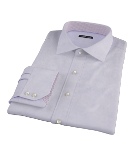 Lavender 100s Twill Custom Dress Shirt