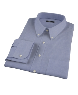 Navy Oxford Custom Dress Shirt