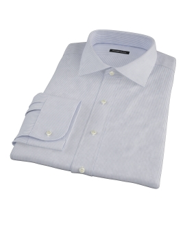 Grey Grant Stripe Dress Shirt