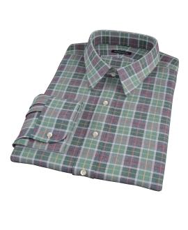 Green Dock Street Flannel Dress Shirt