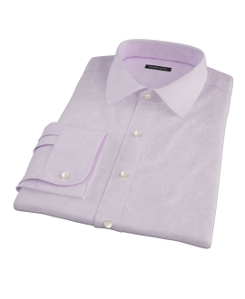 Thomas Mason Pink Mini Houndstooth Tailor Made Shirt