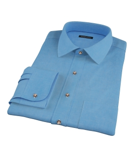 Crosby Light Blue Denim Custom Dress Shirt