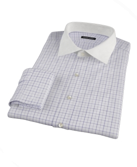 Canclini Lavender Multi Grid Tailor Made Shirt