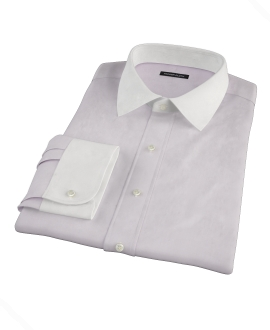 Canclini Lavender Fine Twill Custom Made Shirt