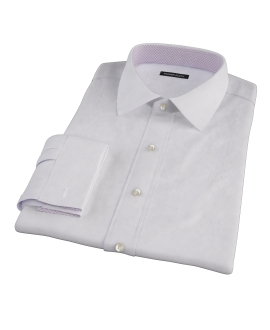 Wrinkle Resistant Purple Multi Grid Custom Dress Shirt