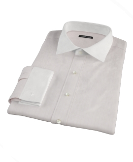 Pink Phantom Wide Stripe Men's Dress Shirt