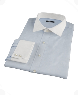 Light Blue Imperial Twill Dress Shirt 