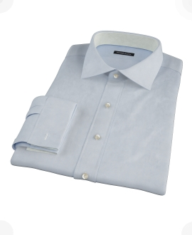 Canclini Light Blue Imperial Twill Custom Made Shirt