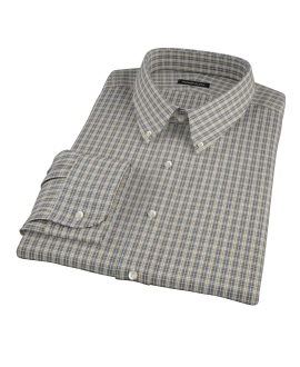 Honey Glazed Oxford Cloth Fitted Shirt