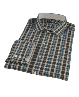 Whistler Green Plaid Fitted Shirt