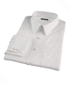Canclini White Royal Twill Custom Made Shirt