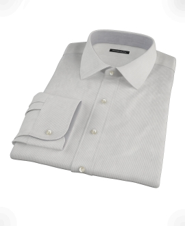 Japanese Gray Mini Grid Tailor Made Shirt 