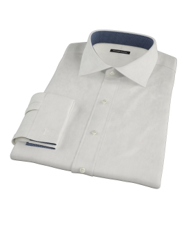 White Phantom Wide Stripe Fitted Shirt
