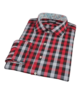 Aspen Red Plaid Tailor Made Shirt 