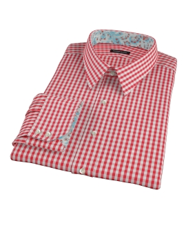 Union Red Gingham Dress Shirt 
