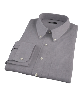 Charcoal Oxford Men's Dress Shirt 