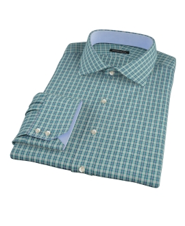 Veridian Green Oxford Plaid Tailor Made Shirt 